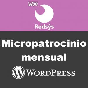Micropatrocinio mensual Redsys