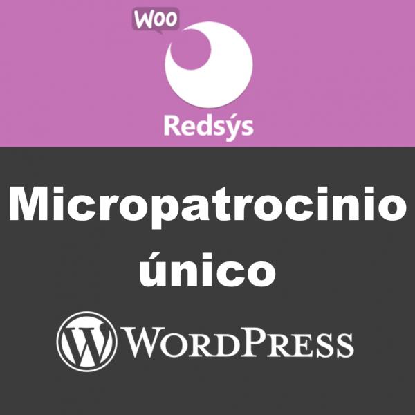 Micropatrocinio único Redsys