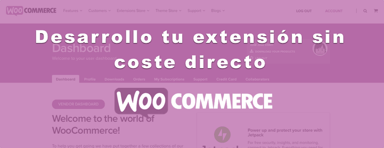 Desarrollo de extensiones WooCommerce sin coste directo